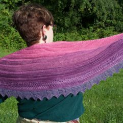 gradient set shawl