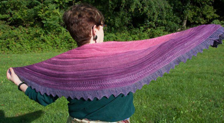 gradient set shawl