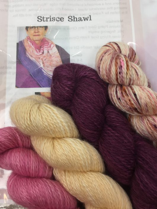 zephyrette shawl kit