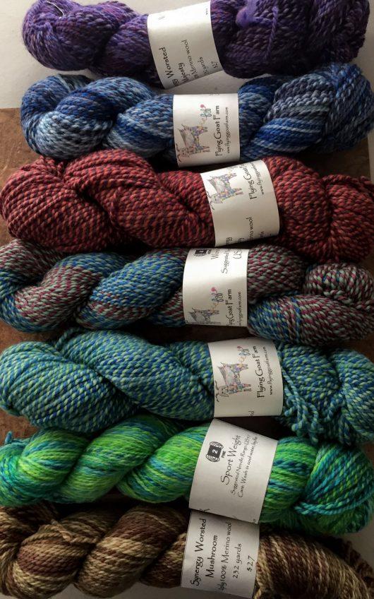 wool marled yarn